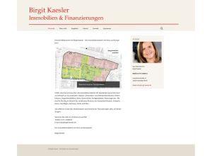 Birgit Kaesler  Immoblien & Finanzierungen160809