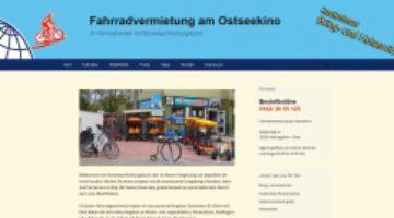 Fahrradvermietung am Ostseekino  Ihr Fahrradverleih im Ostseebad Kühlungsborn160809